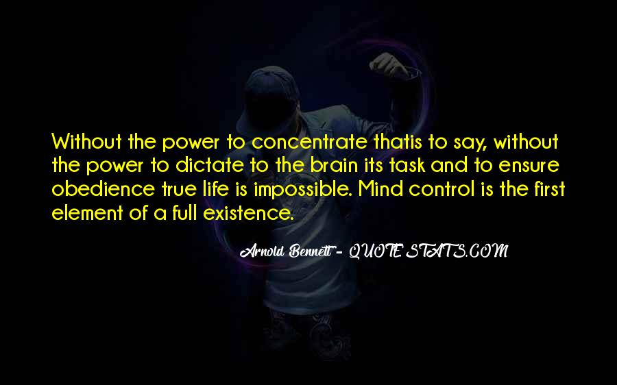 Quotes About Control Of The Mind #693221