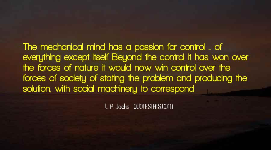 Quotes About Control Of The Mind #701187