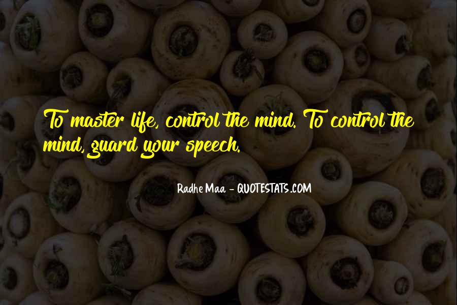 Quotes About Control Of The Mind #776717