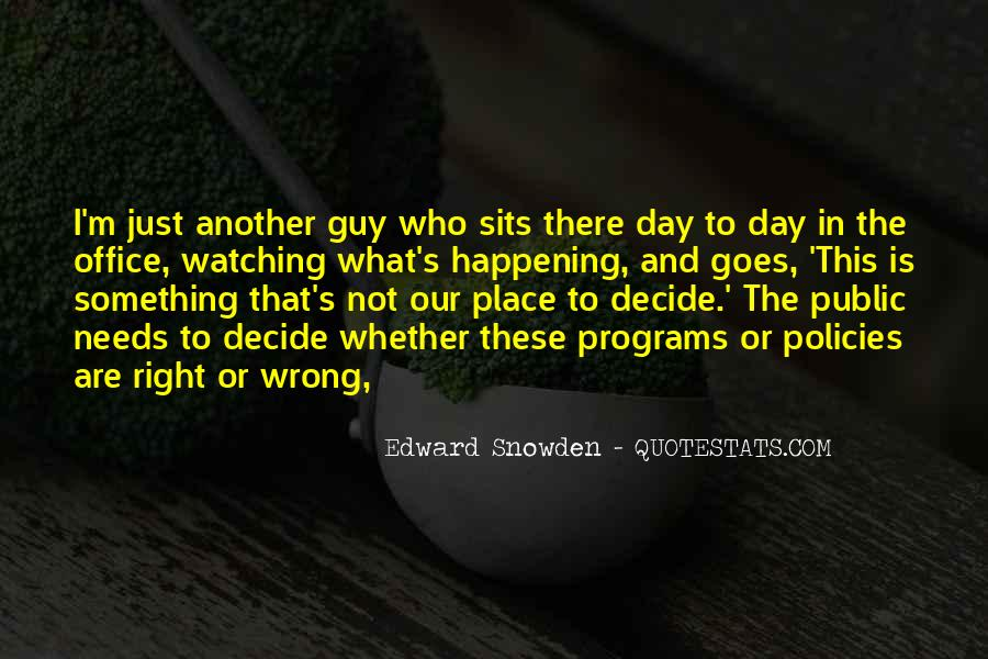 Quotes About The Wrong Guy #28498