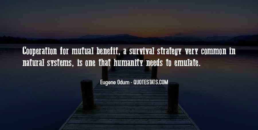 Quotes About Mutual Benefit #1061959