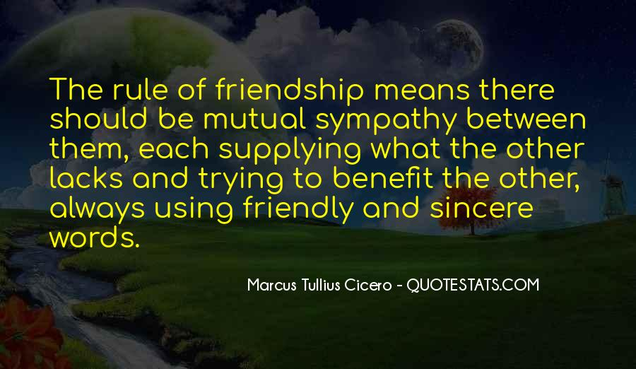 Quotes About Mutual Benefit #1475676