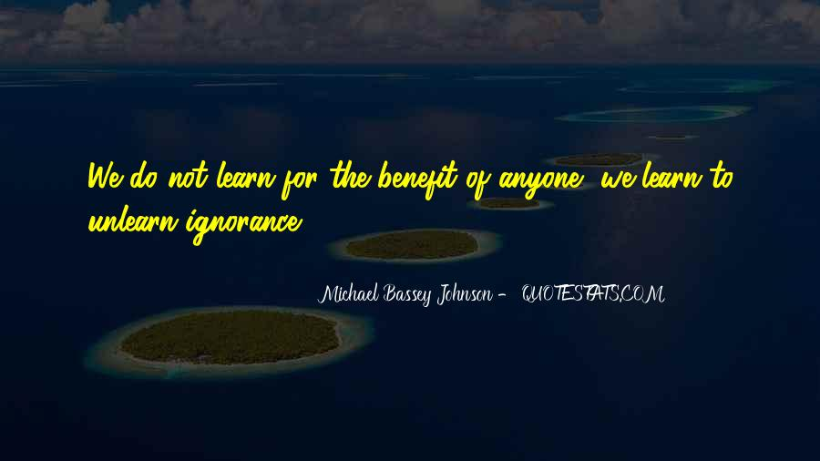 Quotes About Reading And Ignorance #1815323