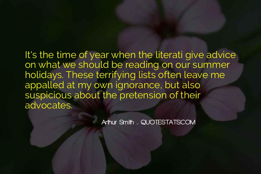 Quotes About Reading And Ignorance #1843221