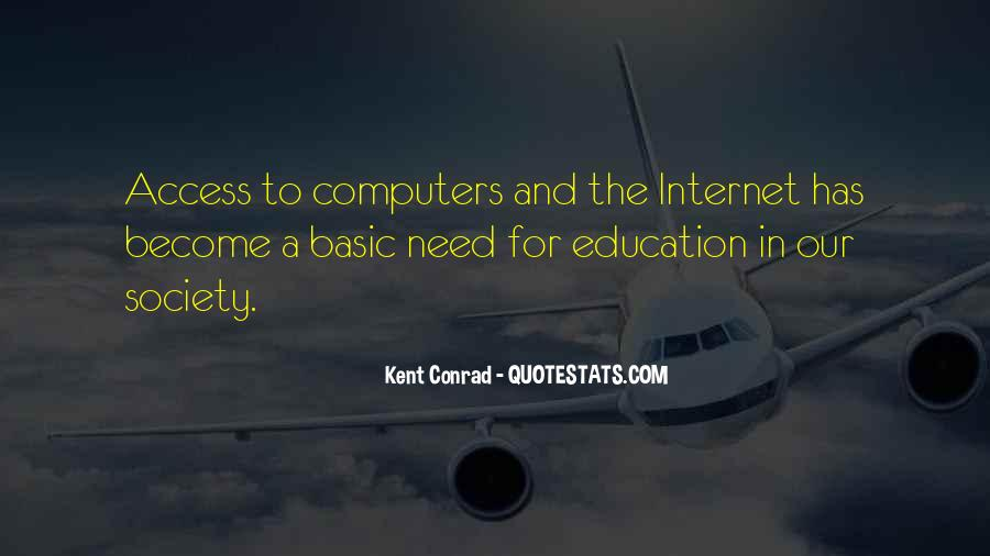 Quotes About Computers And Education #219182