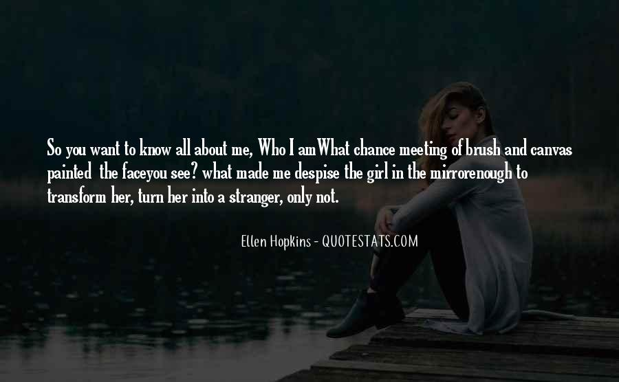 Quotes About Meeting Someone By Chance #879043