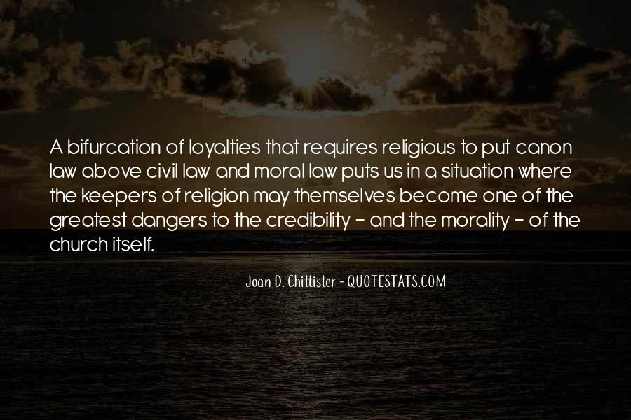 Quotes About Dangers Of Religion #1256443