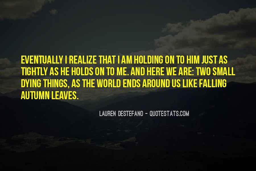 Quotes About Autumn Leaves Falling #1245993