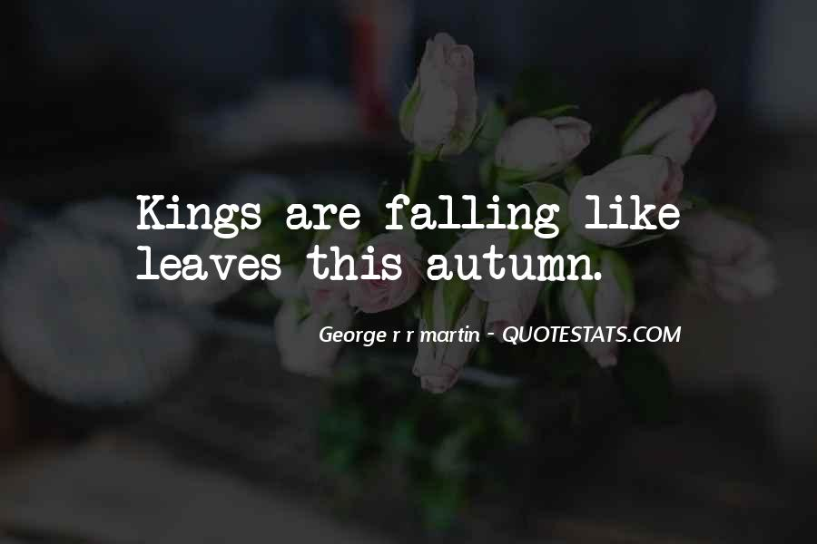 Quotes About Autumn Leaves Falling #1518138