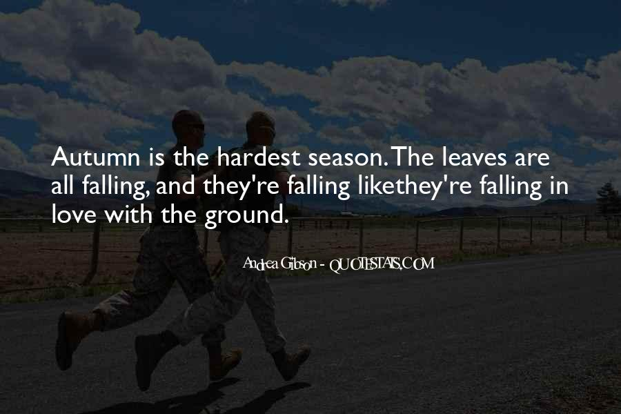 Quotes About Autumn Leaves Falling #304122