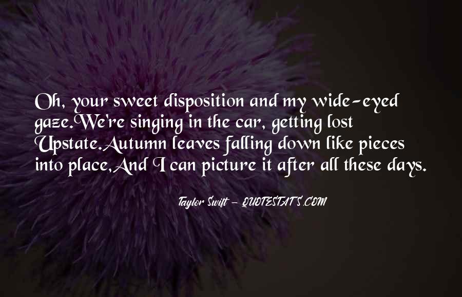 Quotes About Autumn Leaves Falling #449760