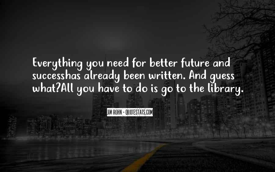 Quotes About Future And Success #1170099