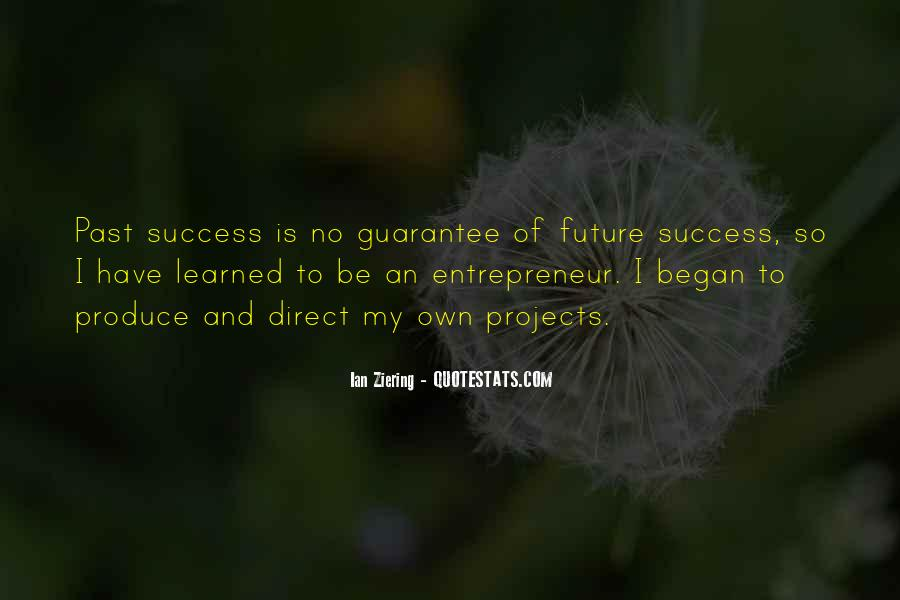 Quotes About Future And Success #1433418