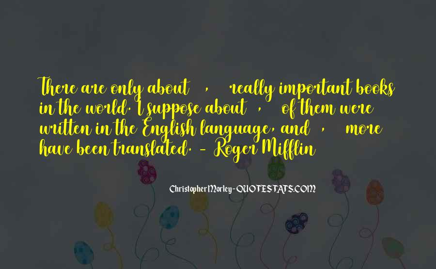 Quotes About Translation Books #1848402