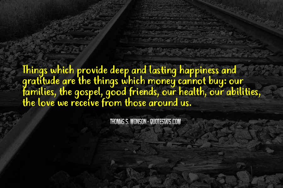 Quotes About Gratitude For Friends #1780137