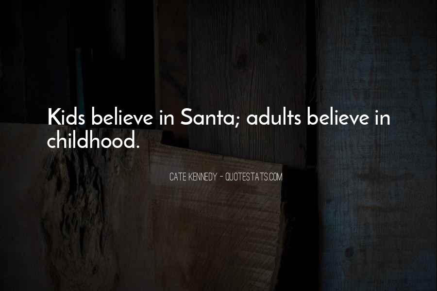 Quotes About Believe In Santa #1617969