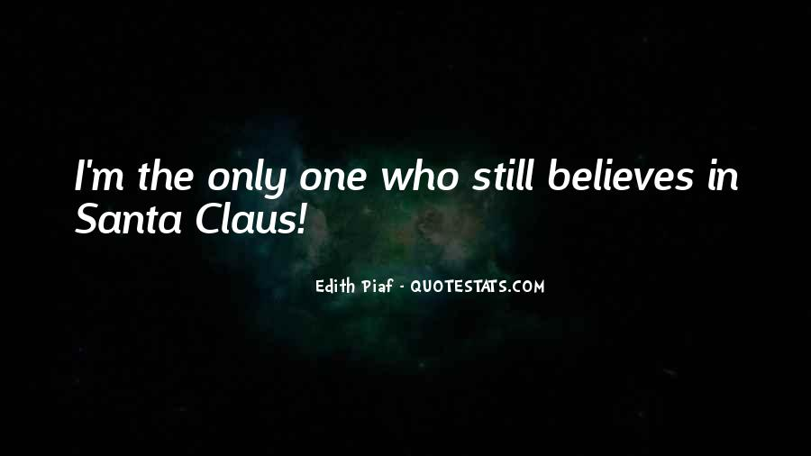 Quotes About Believe In Santa #1717183