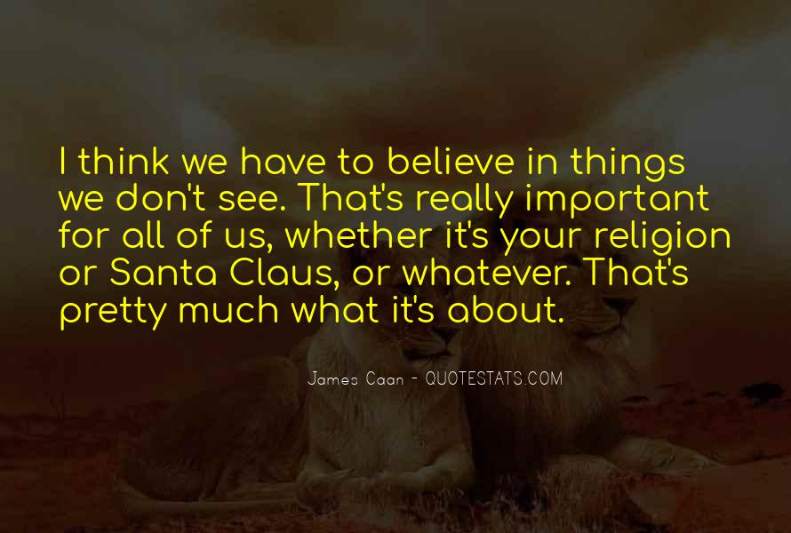 Quotes About Believe In Santa #316738