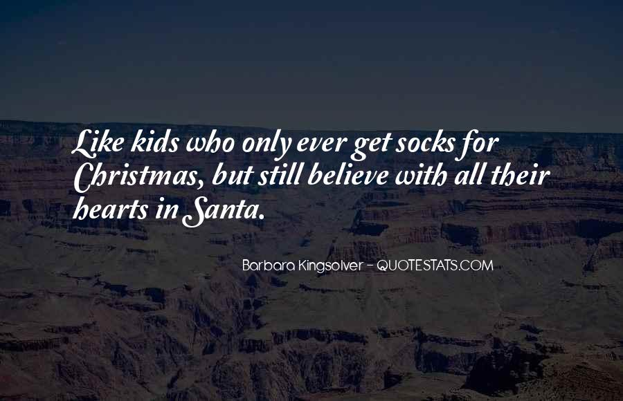 Quotes About Believe In Santa #559731