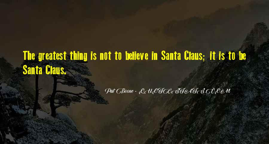Quotes About Believe In Santa #908928