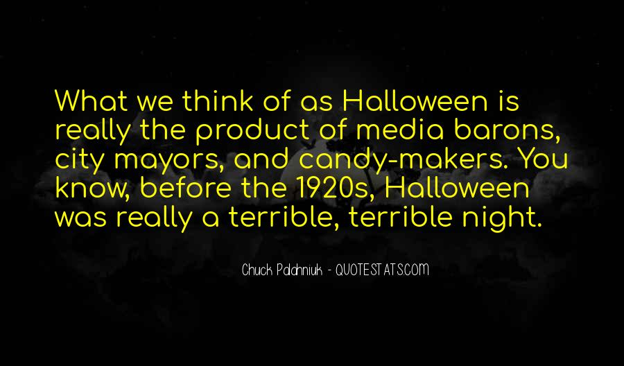 Quotes About Halloween #138477