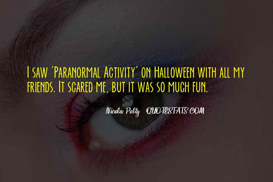 Quotes About Halloween #159019