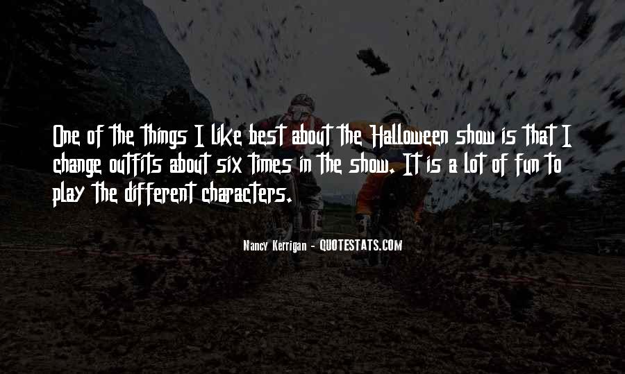 Quotes About Halloween #168696