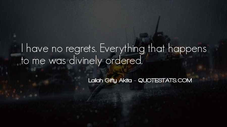 Quotes About Mistakes But No Regrets #1139860