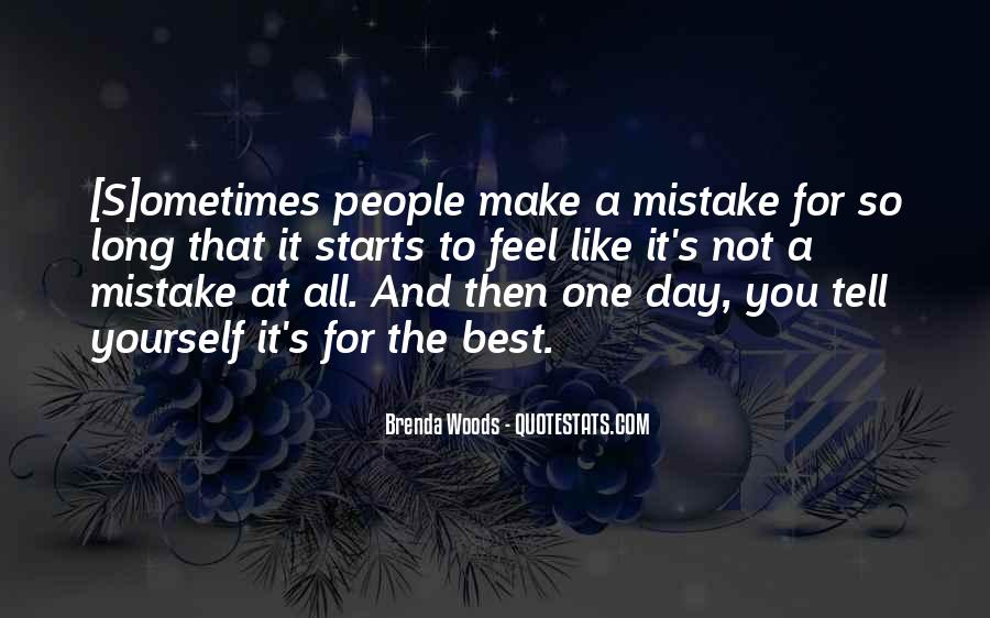 Quotes About Mistakes But No Regrets #395508