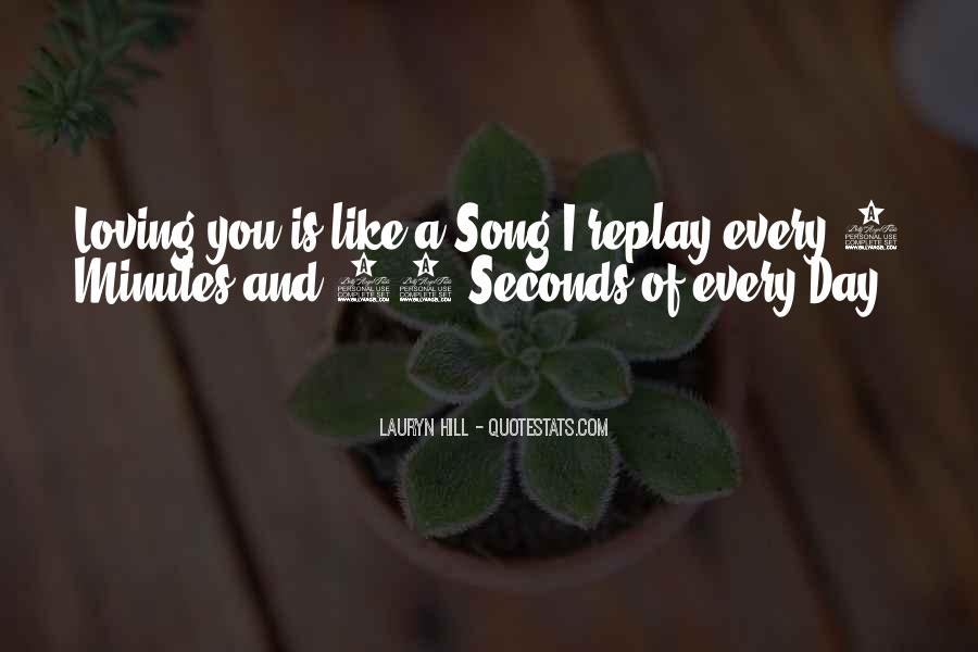Quotes About Seconds In A Day #1306271