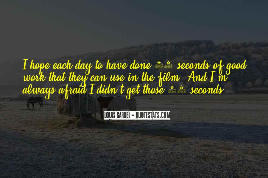 Quotes About Seconds In A Day #1606854