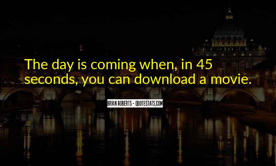 Quotes About Seconds In A Day #733236