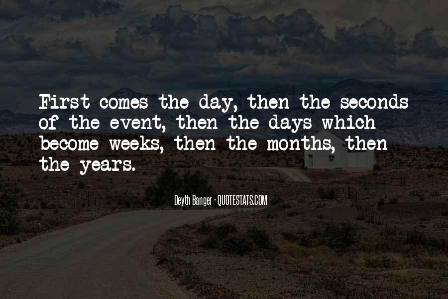 Quotes About Seconds In A Day #862885
