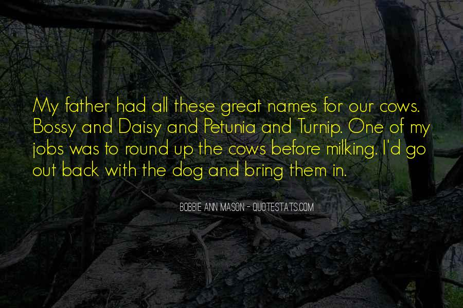 Quotes About Milking Cows #1309687
