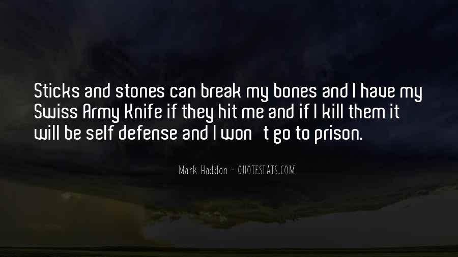 Quotes About Sticks And Stones #471706