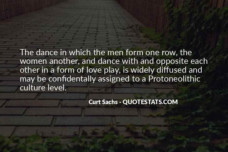 Quotes About Dance And Culture #1020612