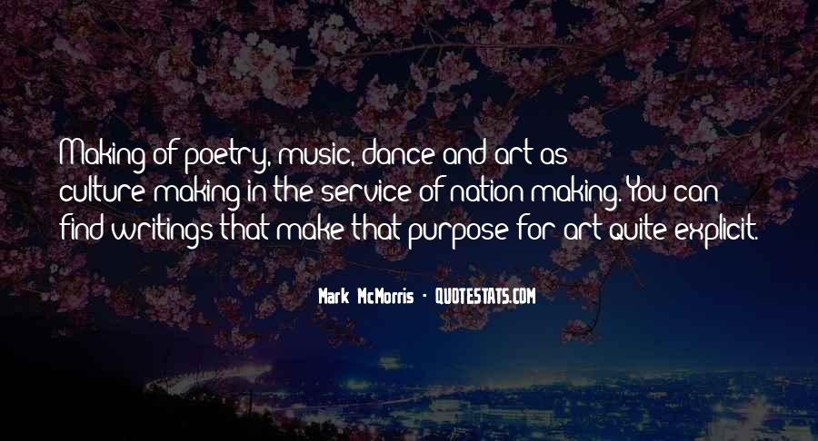 Quotes About Dance And Culture #1458542