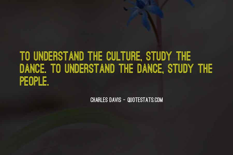 Quotes About Dance And Culture #220191