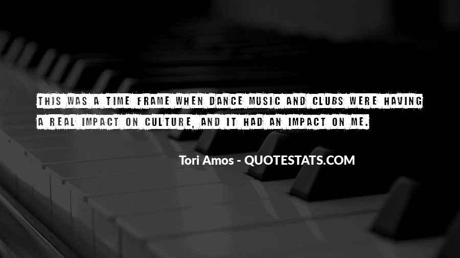 Quotes About Dance And Culture #294464