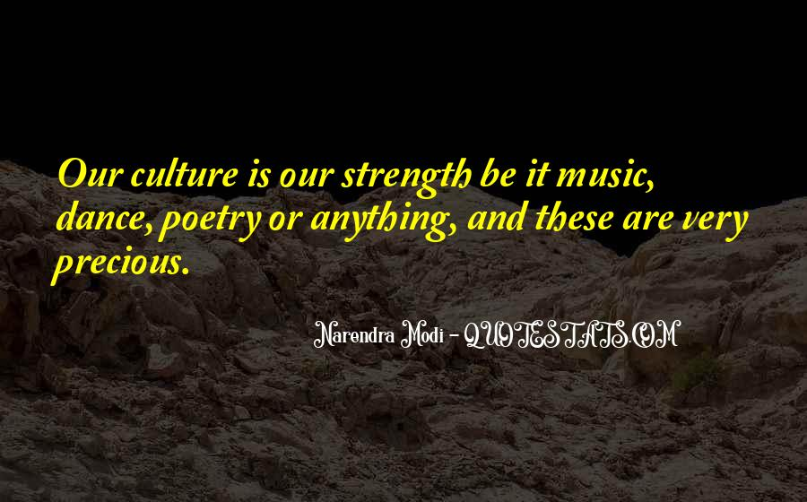 Quotes About Dance And Culture #645471