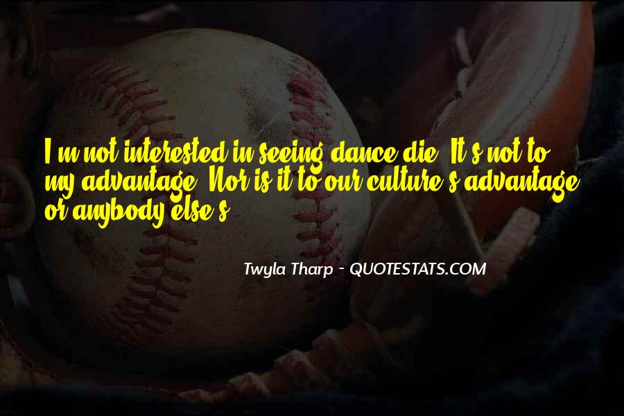 Quotes About Dance And Culture #699313
