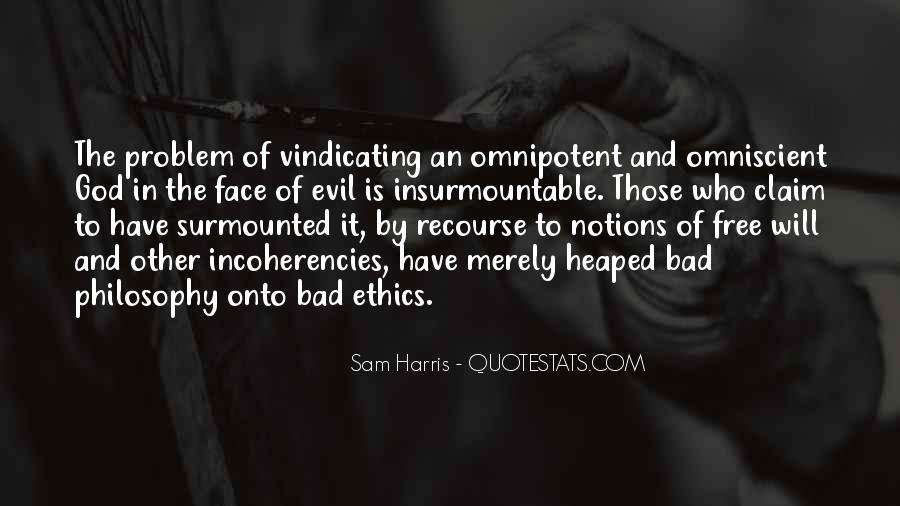 Quotes About Problem Of Evil #1773007