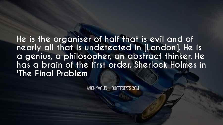 Quotes About Problem Of Evil #705989