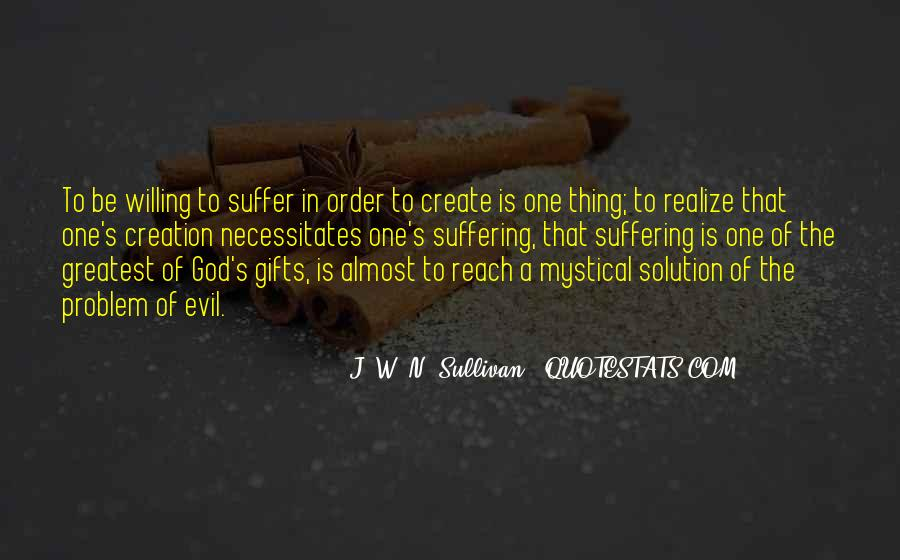 Quotes About Problem Of Evil #779136