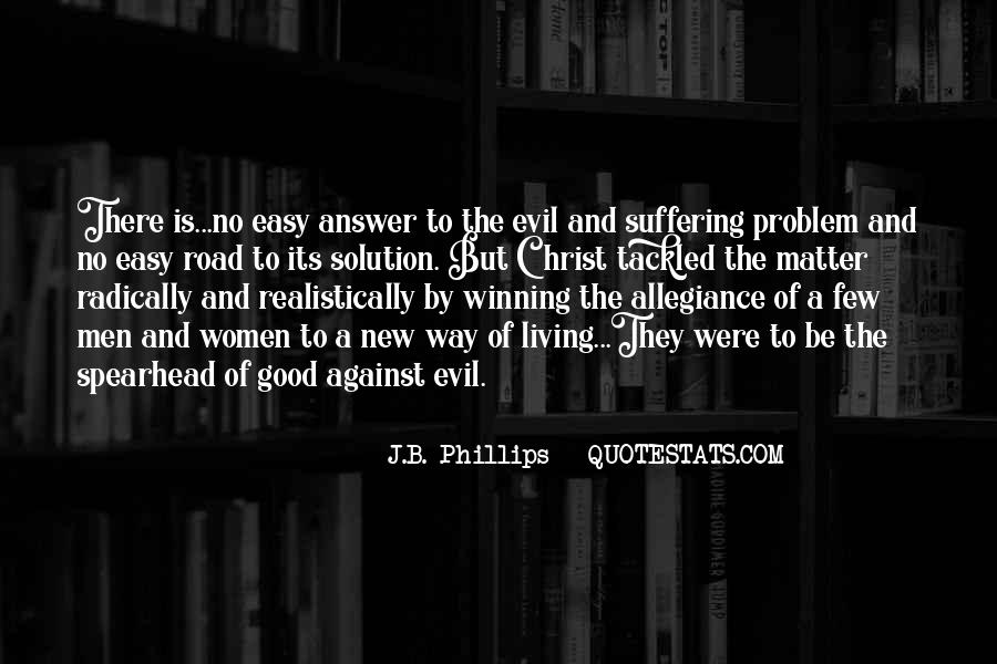 Quotes About Problem Of Evil #90299