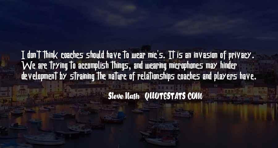 Quotes About Relationships And Nature #1340904