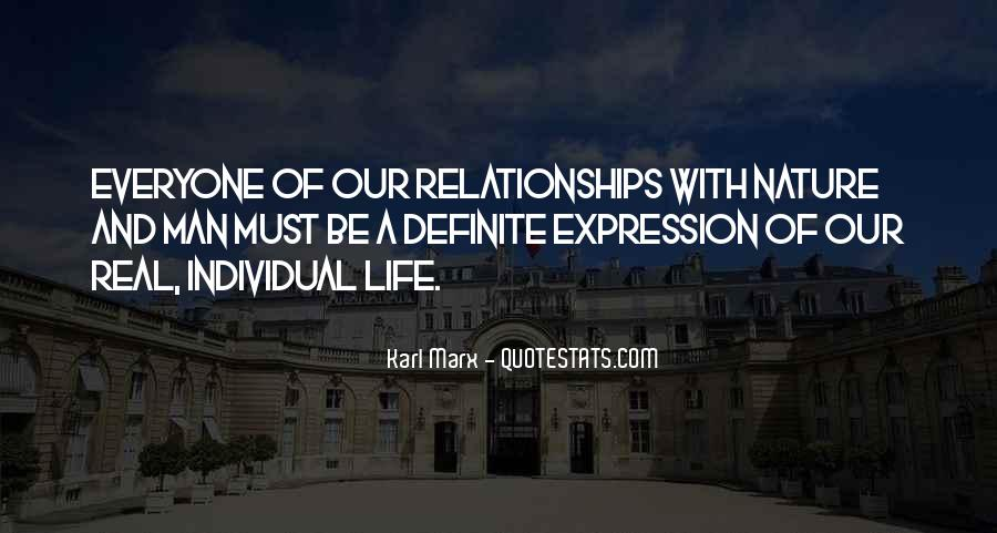 Quotes About Relationships And Nature #1806752