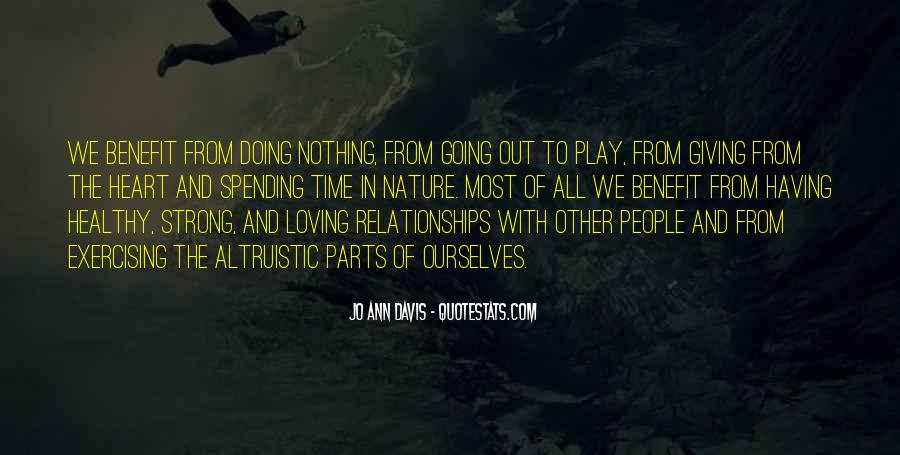 Quotes About Relationships And Nature #1820659