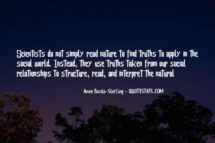 Quotes About Relationships And Nature #647794