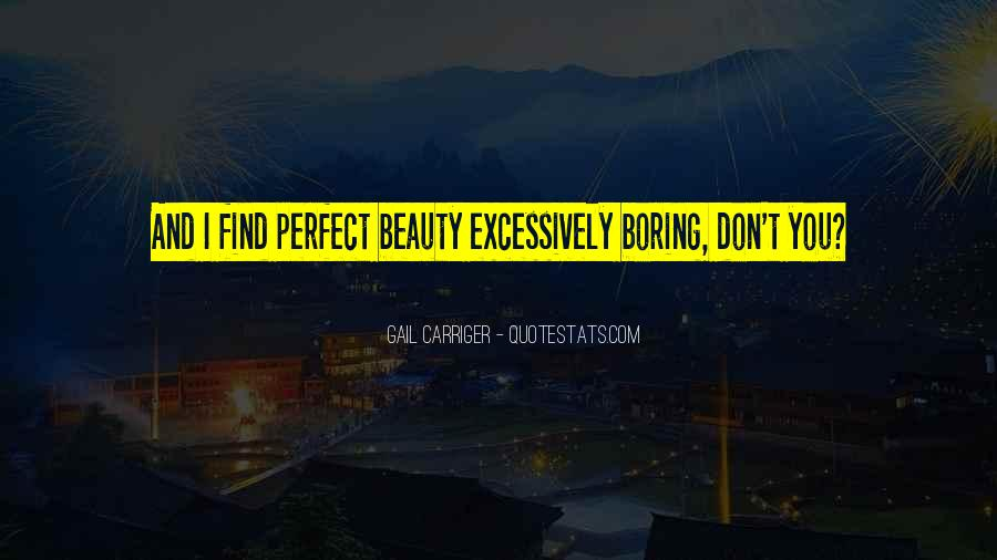 Quotes About Perfection And Beauty #1218522
